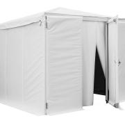 Mobiler Kühlschrank ausgebautes Zelt